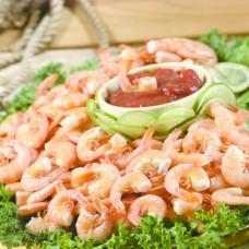 Peel-and-eat Shrimp Platter