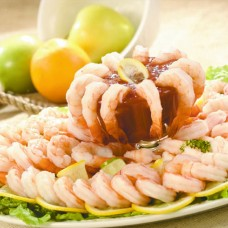 Cooked, Peeled & Deveined Shrimp Platter