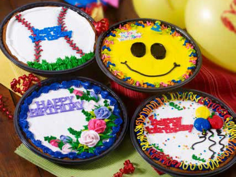 Giant Decorated Cookie