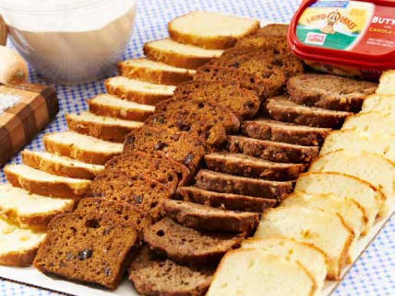 Pound Cake & Dessert Breads Platter