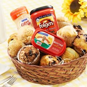 Basket of Jumbo Muffins