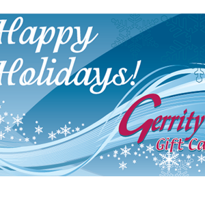 Gerrity's Gift Card