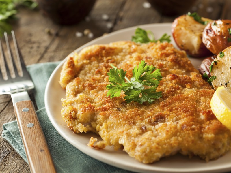 Breaded Southern Style Pork Chops