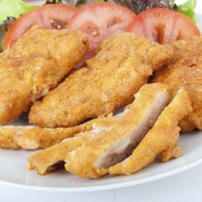 Chicken Strips with Garlic & Butter Sauce
