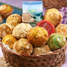 Basket of Jumbo Muffins