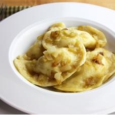 Pierogies in Butter & Onions
