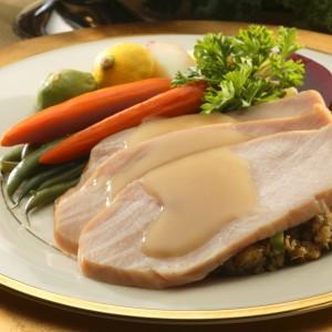 Roast Turkey with Gravy