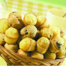 Big Basket of Mini Muffins