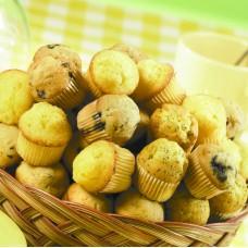 Big Basket of Mini Muffins