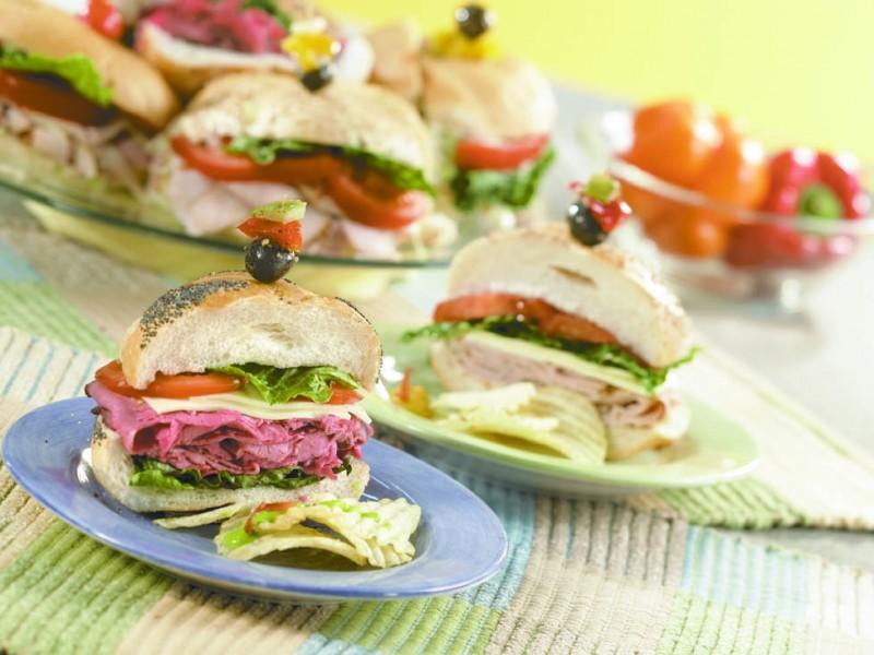 Perfect Sandwich Platter