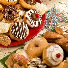 Colorful Donut Platter