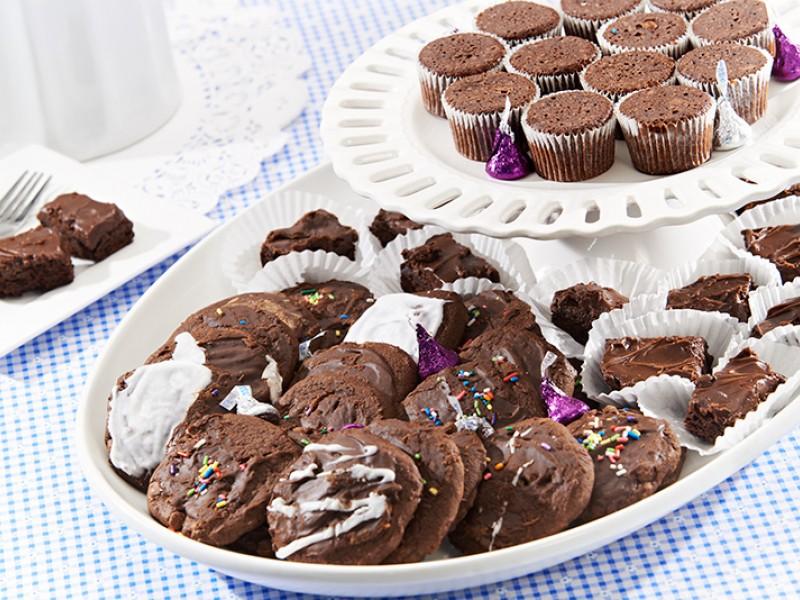 Brownie Lover's Platter