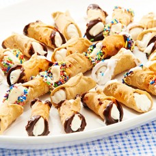 Mini Cannoli Platter