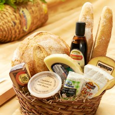 Olde World Bread and Cheese Basket