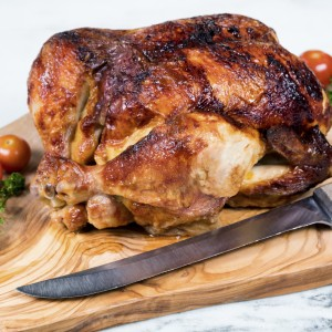 Whole Rotisserie Chicken Dinner