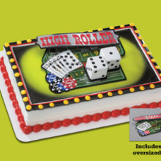 Casino Night out Cake