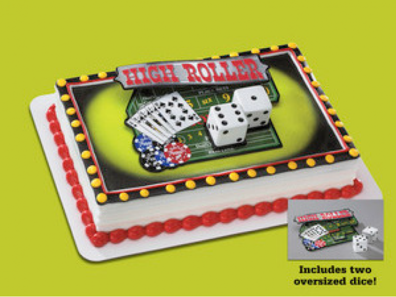 Casino Night out Cake