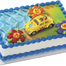 Fashion Fun Car Cake