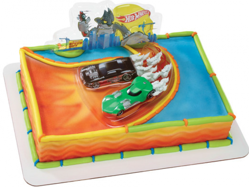 Hot Wheels Wild Ride Cake