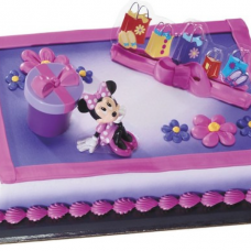 Mickey & Friends - Minnie Hat Box Cake