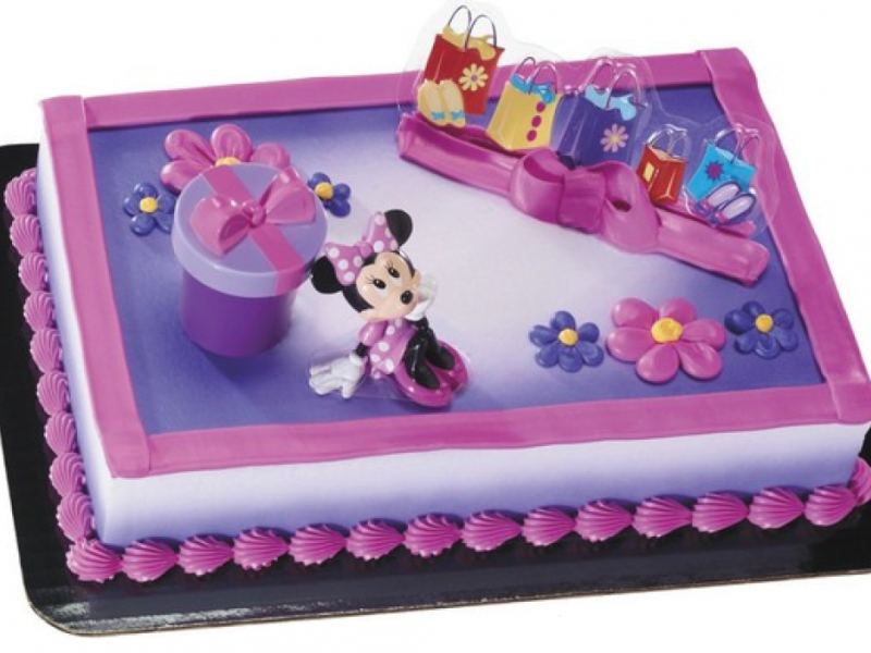 Mickey Friends Minnie Hat Box Cake Gerritys Catering
