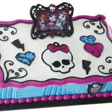 Monster High Frame & Skullette Cake