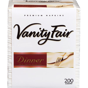 Vanity Fair Dinner Napkins