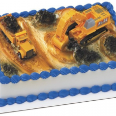 Construction Dig Cake