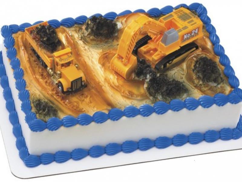 Construction Dig Cake