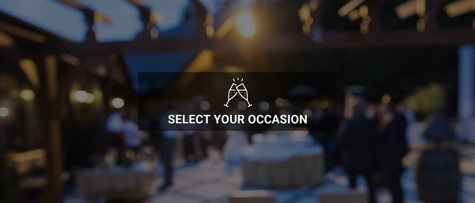 Select Your Occasion
