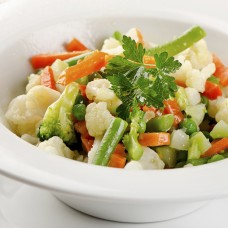 Assorted Steamed Vegetables